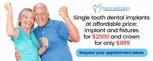Warner Lakes Dental | Dental Implants Specials