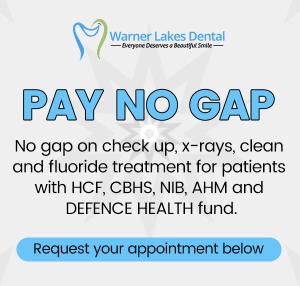 PAY NO GAP Offer Banner Mobile   Dentist Warner