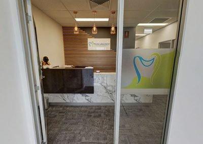 Warner Lakes Dental Entrance Door | Dentist Warner