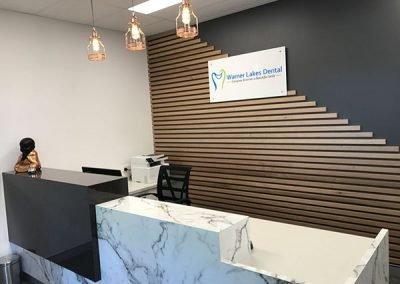 Warner Lakes Dental Reception Area
