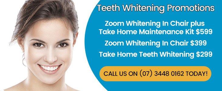 Teeth Whitening Promotions Banner Dentist Warner