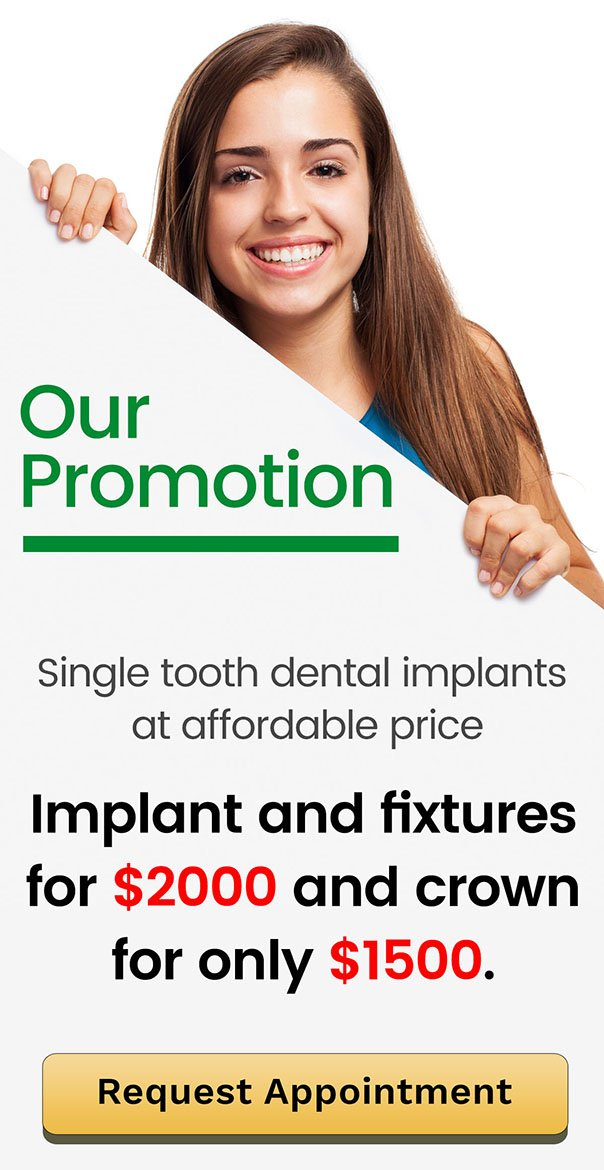 PAY NO GAP Banner | Dentist Warner