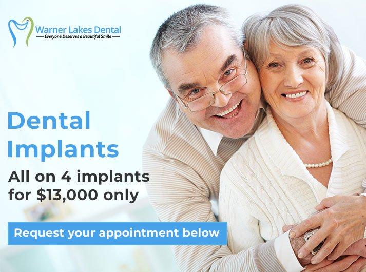 All on 4 Dental Implants Warner