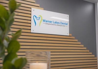 Warner Lakes Dental Reception Area Dentist Warner